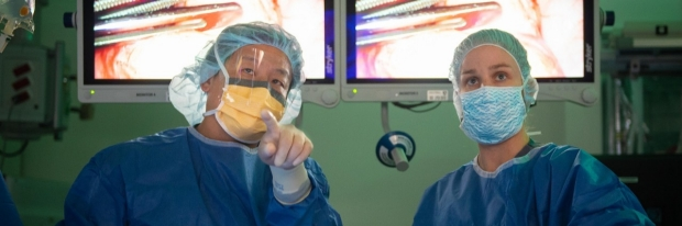 James Dunn in the Operating Room